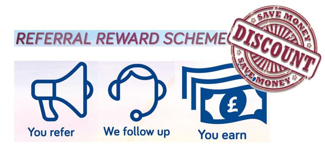 broadgate voice & data referral and rewards schemes discount
