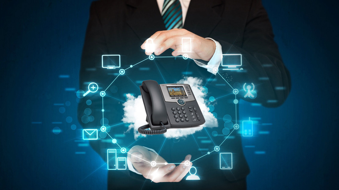 broadgate voice & data Why Own a Telephone System When You Can Licence it with a Hosted VoIP Solution man holding handset