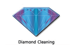Broadgate Voice & Data diamond cleaning badge